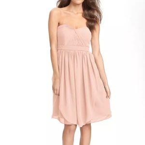 Jenny yoo blush pink convertible Keira dress